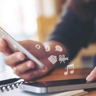 Transfert de données entre 2 smartphones