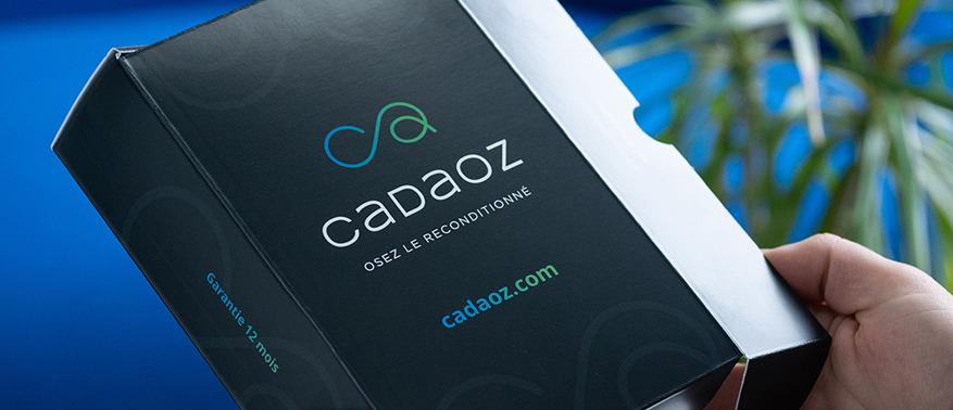 Smartphone reconditionné boîte Cadaoz