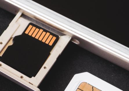 Carte mémoire externe smartphone